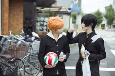 erlan(二蓝) Tobio Kageyama, Shoyo Hinata Cosplay Photo - WorldCosplay