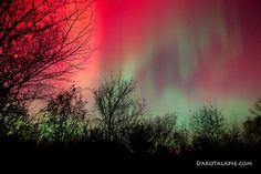 Aurora in Wisconsin. Credit: River Halverson and Randy Halverson from Dakotalapse