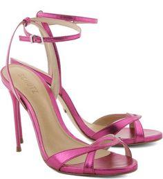 Sandália Holografic Pink