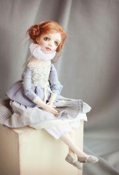 Пьеретта. Подвижная кукла Татьяны Симуковой