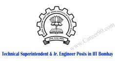 Technical Superintendent & Jr. Engineer Posts in IIT Bombay #EngineerPosts http://goo.gl/j57tmq #Privatejobs