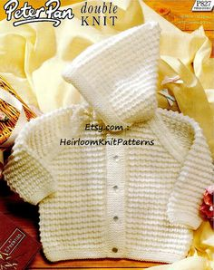 375 6M-3yrs Baby/ Toddler Boys/ Girls Cosy by HeirloomKnitPatterns