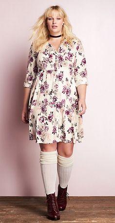 Plus Size Fall Dress - Plus Size Fall Outfit - Plus Size Fashion for Women