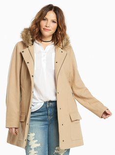 Plus Size Oversize Faux Fur Collar Coat Plus Size Outerwear, Plus Size Coats, Outerwear Jackets, Faux Fur Collar Coat, Fur Collars, List Style, My Style, Fashion Catalogue, Winter Jackets Women