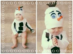 Diy no sew olaf costume clive looked so cute in this crafts diy olaf costume for infant frozen solutioingenieria Gallery