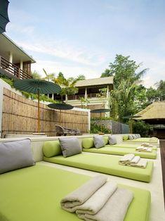 The Purist Villas & Spa Hotel - Ubud luxury boutique hotel - Bali - Indonesia Outdoor Bathrooms, Outdoor Rooms, Outdoor Living, Outdoor Decor, Ubud Hotels, Beach Hotels, Bali Style Home, Balinese Interior, Bali Decor