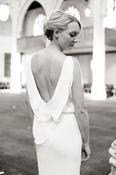 Maria Grachvogel for a Grecian Inspired London City Wedding