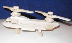 Wooden toys Helicopter Toddler toys Wood toy Kids toy by EcoToy