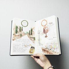 Keep drawing on your Travelege Journal!