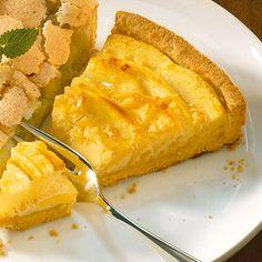 Glutenfreier Apfelkuchen mit Zimtguss   Küchengötter