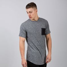 Sterling Pocket T-shirt - Charcoal Heather Grey  // Click the link to buy or for more info - https://www.king-apparel.com/new-collection/t-shirts/sterling-pocket-t-shirt-charcoal-heather-grey.html