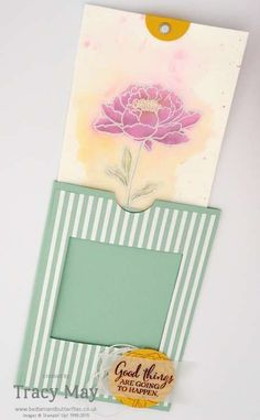 Stampin' Up! You've Got This Magic Slider Card Independent Demonstrator Tracy May