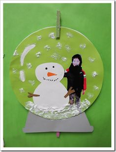 Personal Snowglobes with Photo