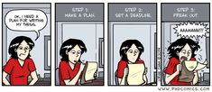 Me right now. Step 4: Browse Pinterest instead.
