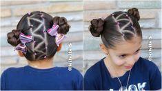 Kids Curly Hairstyles, Cute Little Girl Hairstyles, Baby Girl Hairstyles, Princess Hairstyles, Holiday Hairstyles, Olive Hair, Curly Hair Styles, Natural Hair Styles, Kid Braid Styles