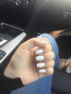 Very Pretty White Fingers & Toes White Nail Polish, Nail Polish Colors, How To Do Nails, My Nails, White Finger, Polished Look, Beauty Hacks, Beauty Tips, Nails Inspiration