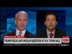 WATCH: Anderson Cooper Loses His Cool With Trump Supporter On-Air