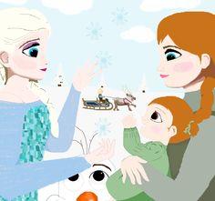 Frozen+Family+by+YeahFrenchToast.deviantart.com+on+@DeviantArt