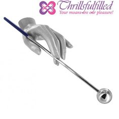 Stainless Steel Lollipop is the perfect implement for some deep probing. Prostate and g-spot stimulation are right at your fingertips. Watch your partner writhe in ecstasy as you apply pressure precisely and firmly against their favorite spot. - $38 https://www.thrillsfulfilled.com/product/stainless-steel-lollipop/