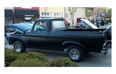 1961 Ford F-100 unibody pickup body on a 1970 Ford F-100 frame Hot rod satin black paint Mustang 5.0 engine professionally rebuilt C4 transmission Independent front suspension Disk front brakes; drum rear brakes Power steering New gas tank Frame off rebuilt completed Summer of 2015; only a few hundred miles on rebuilt Registered as a 1961 Ford F-100 unibody; and has a previous clear title