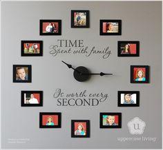 Creative Ideas To Display Family Photos | SHDI