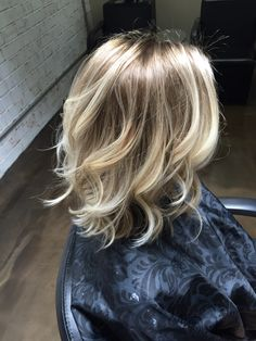 Balayage blonde! Love!