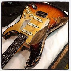 59 Stratocaster Heavy Relic. Built for Gitarren Studio Neustadt @gsn_pics. Thanks again Karl! ...