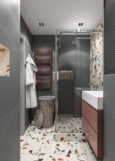 Bathroom design idea for small house. Home Room Design, Home Interior Design, House Design, Bedroom Inspiration Cozy, Bathroom Inspiration, Bathroom Design Luxury, Bathroom Design Small, Lcd Panel Design, Teen Room Decor