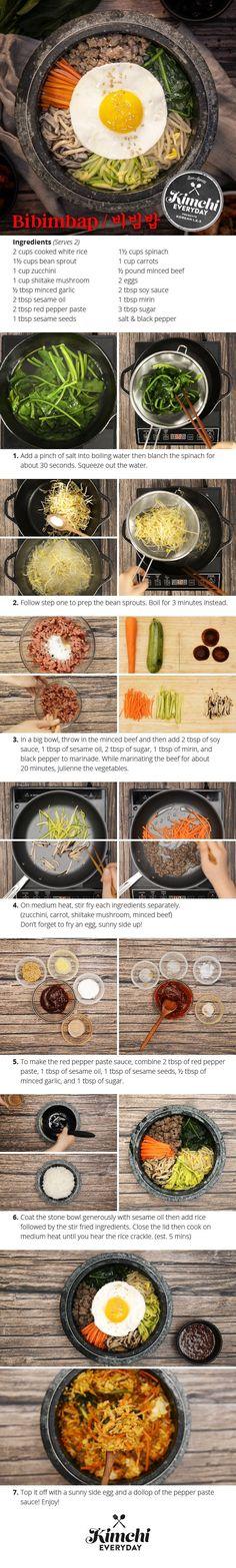 Kimchi Everyday season 2 is here! We're kicking off the new season with Korea's iconinc dish, bibimbap!: