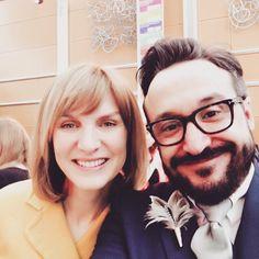 Fiona Bruce! What an incredible inspirational fantastic person! #ugradoftheyear #celebrityselfie #selfie by daciolamounier
