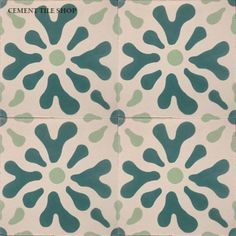 Ablitt Flower, Cement tile shop