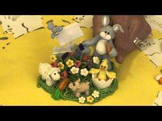 Easter Garden - A polymer Clay Figurine