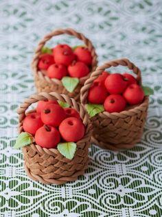 canastitas con manzana