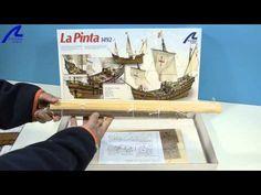 """Construida en los astilleros de Palos de la Frontera, la Pinta era la más veloz de las carabelas. En ella fue donde se oyó el famoso grito de Rodrigo  de Triana de """"¡Tierra a la vista!""""   Built in the shipyards of Palos de la Frontera, Spain, La Pinta was the fastest of the 3 ships commanded by Christopher Colombus. It was on October 12 when from La Pinta the famous cry of Rodrigo de Triana """"Land ho!"""" was heard."""