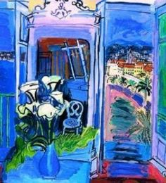More Raoul Dufy Raoul Dufy, Fauvism, Human Soul, Duffy, Shades Of Blue, Cities, Artists, Artwork, Flowers