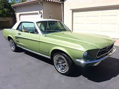 Ford: Mustang Coupe 1967 ford mustang coupe factory power steering 289 v 8 center console loaded