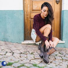 Those boots though (Photo: Emu Boots, Waterproof Boots, What I Wore, Fall Outfits, Oxford Shoes, That Look, Stylish, Trending Outfits, Brown
