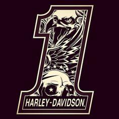 Logo Harley Davidson 1 - Jared Mirabile/Sweyda #harleydavidsonroadkingbobber