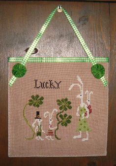 Things are a whirlwind around here, so I was a little taken aback when Breanna reminded me that I was late in getting my March banner up. I'm not Irish, but I'm. St Patrick's Cross, Easter 2021, St Pats, Lucky Day, St Patricks Day, Hand Stitching, Cross Stitch Patterns, Needlework, Irish