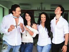 Jackie Shroff's wife Ayesha and kids Tiger and Krishna to throw a surprise for his 60th birthday