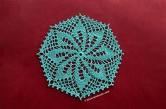 Enjoy the beauty of the Octagon Crochet Doily on any table throughout your home. Use this free pattern to make it in a variety of colors and yarn weights. Free Crochet Doily Patterns, All Free Crochet, Crochet Motif, Easy Crochet, Single Crochet, Free Pattern, Crochet Coaster, Crochet Rugs, Afghan Crochet