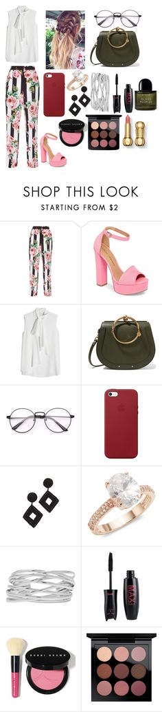"""""""Bossy, Boss."""" by parisgirl8009 ❤ liked on Polyvore featuring Dolce&Gabbana, Chinese Laundry, Alexander McQueen, Chloé, Apple, Kenneth Jay Lane, Saks Fifth Avenue, M&Co, Bobbi Brown Cosmetics and MAC Cosmetics"""