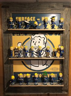 Game Cafe, Geek Room, Vault Tec, Fallout Game, Room Ideas, Decor Ideas, Fall Out 4, Room Decorations, Bobble Head