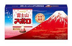 明治のロングセラーブランド「アポロ」より、大粒で富士山風に摸した新商品「富士山アポロビッグ」が4月21日から全国お土産店などで発売され、話題となっている。特徴として、頂点部にホワイトチョコレートをかけて赤富士風の姿にしており、また葛飾北斎の「凱風快晴」デザインのパッケージで、日本の象徴であり世界遺産で