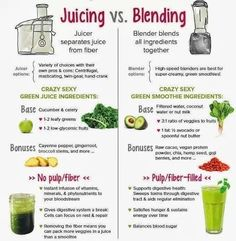 Blenders vs Juicers - Juicing vs Blending - Juicing vs Smoothies - Health - Health & Fitness - Health & Nutrition - Nutrition - Holistic - Organic - Organic Food - Whole Foods - Health Foods - Healthy Foods - Healthy Lifestyle - Wellness - All Natural Foo Smoothie Vert, Juice Smoothie, Smoothie Drinks, Smoothie Shop, Juice Diet, Juice Drinks, Healthy Juices, Healthy Drinks, Healthy Detox