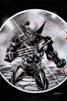 X-Force Wolverine by Jimbo02Salgado.deviantart.com on @DeviantArt