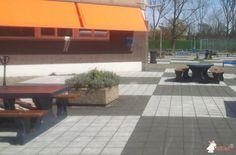 Picknickset DeLuxe Antraciet Ovaal bij Hoofddorp in Hoofddorp