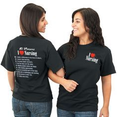 I Love Nursing T-Shirt | Apparel | Positive Promotions | SAVE 10% with promo code NURSE10