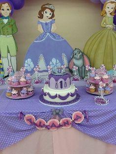 Ideas de decoracion para fiesta de Princesa Sofia