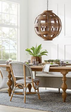 Add a touch of natural beauty to any room with the Vance Rattan Pendant. Handcrafted from rattan on an aluminum fame, this pendant adds texture and dimension to any space.